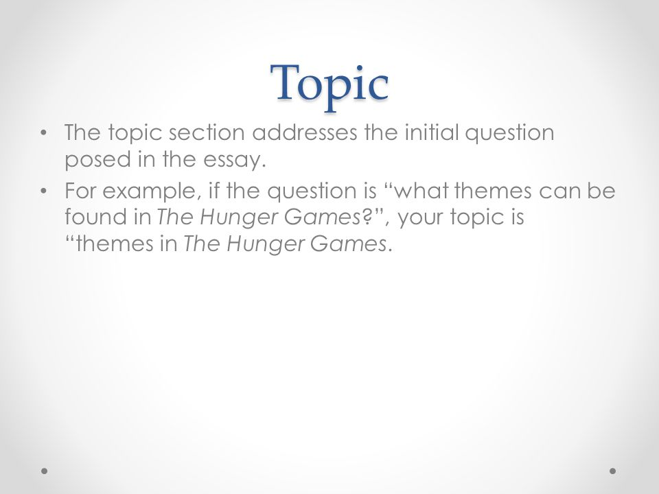 original essay topics
