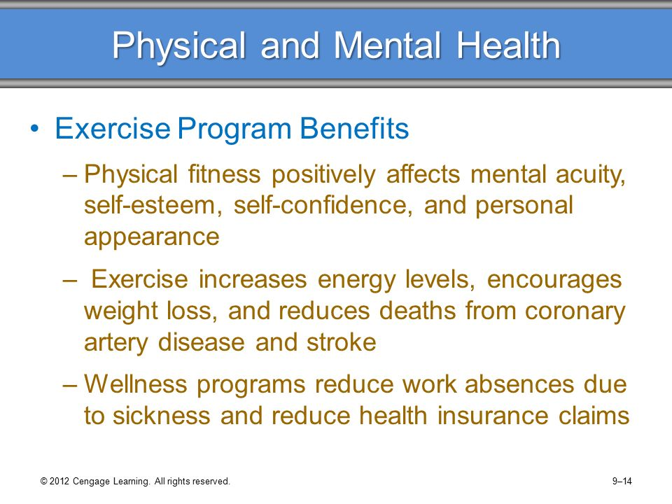 physical and mental health How can the answer be improved.