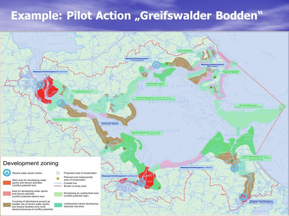 "Example: Pilot Action ""Greifswalder Bodden"