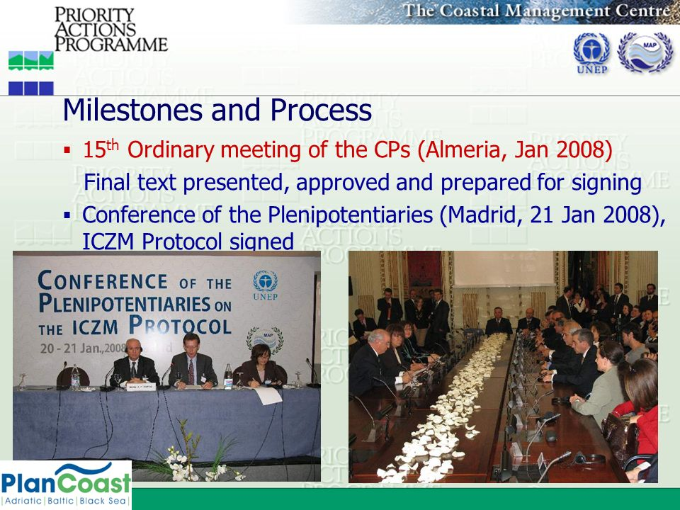 Milestones and Process