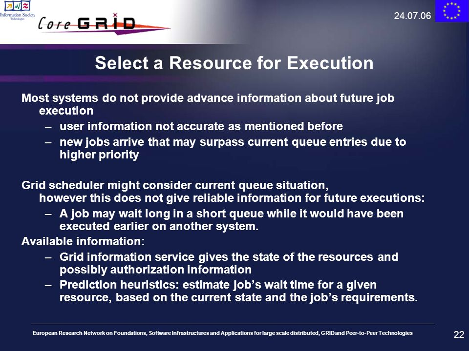 Select a Resource for Execution