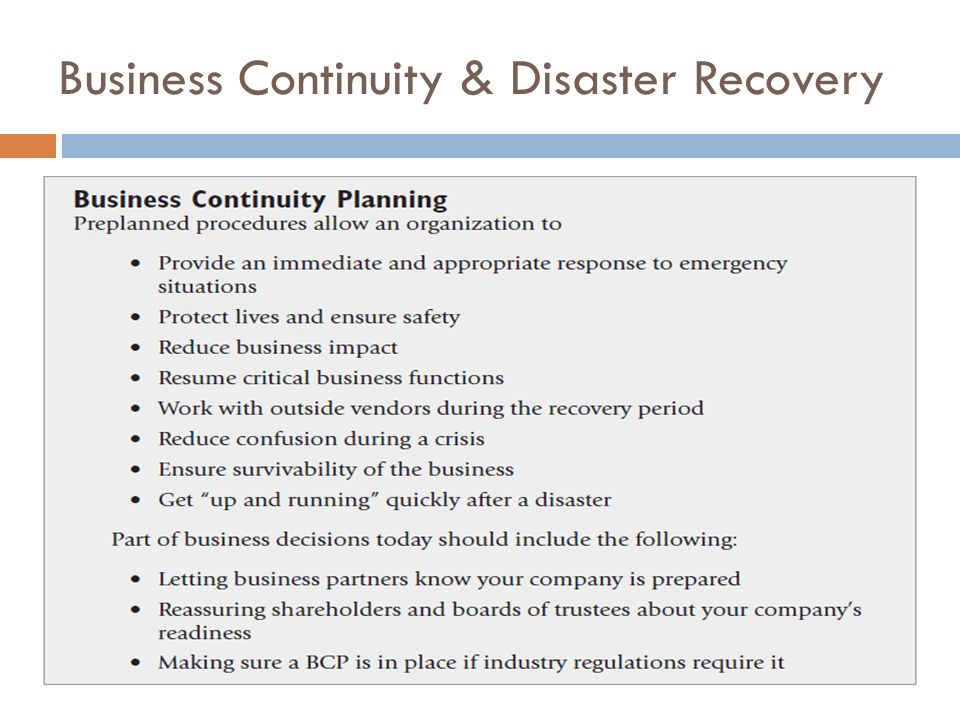 business continuity and disaster recovery essay Free essay: it is intended to be a introduction guide for use in activating recovery  policy to ensure that business interruptions are as soon as.