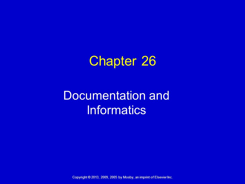 documentation informatics To assist suppliers gather the necessary documents needed to support the medical necessity of claims, many documentation checklists have been prepared as a guide.