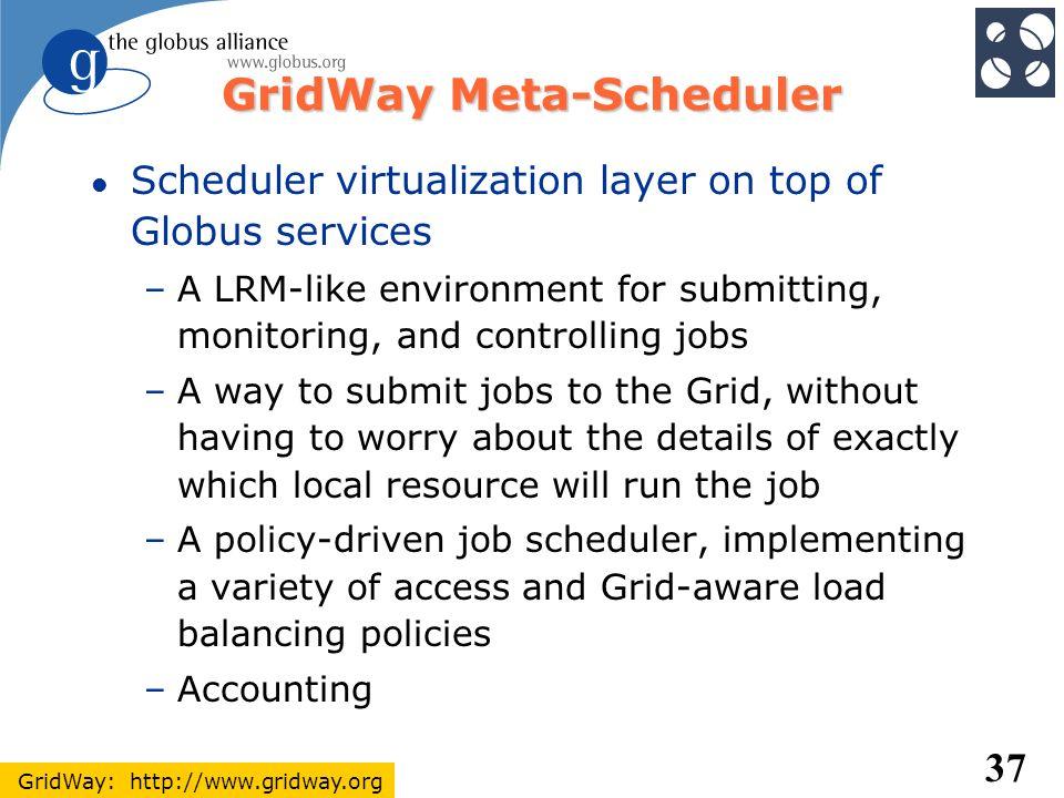 GridWay Meta-Scheduler