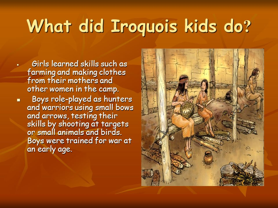 Art and Games - Iroquois