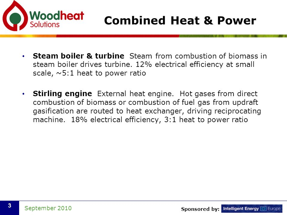 Combined Heat & Power