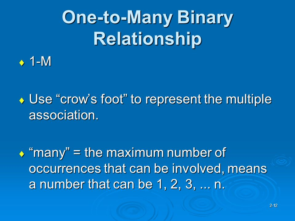 filemaker 12 one to many relationship symbol