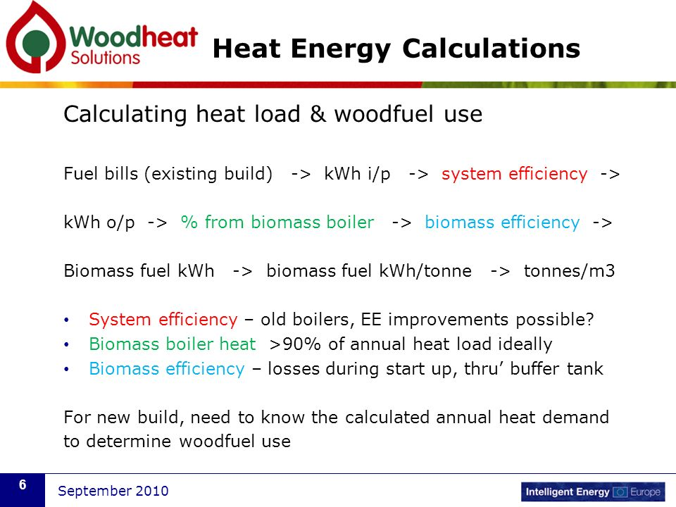 Heat Energy Calculations