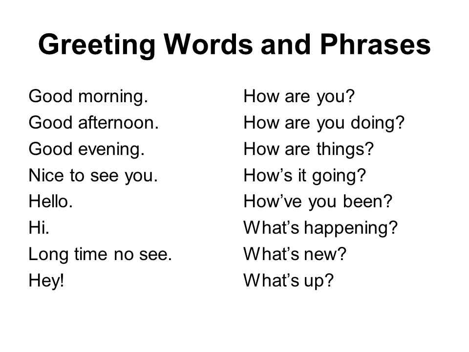Good Morning French Phrases : Conversation lesson greetings ppt video online download