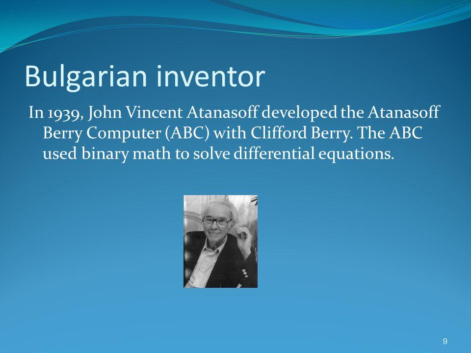 Bulgarian inventor
