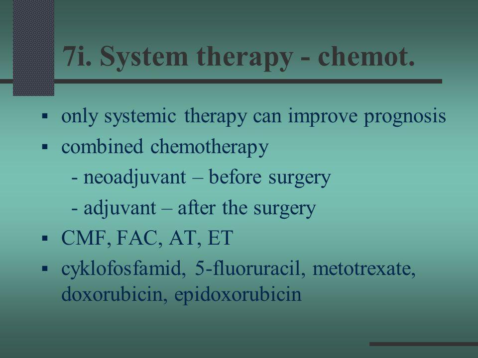 7i. System therapy - chemot.