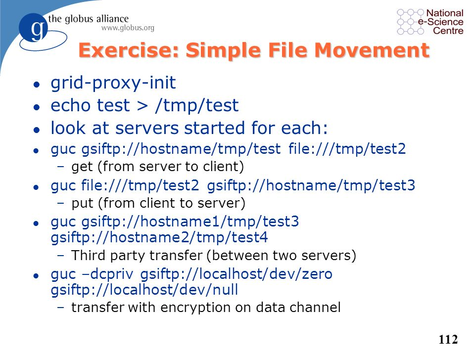 Exercise: Simple File Movement