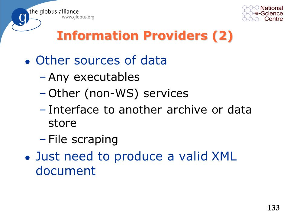 Information Providers (2)