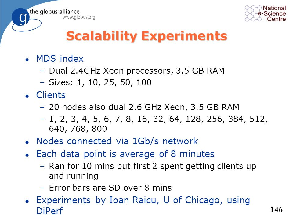 Scalability Experiments