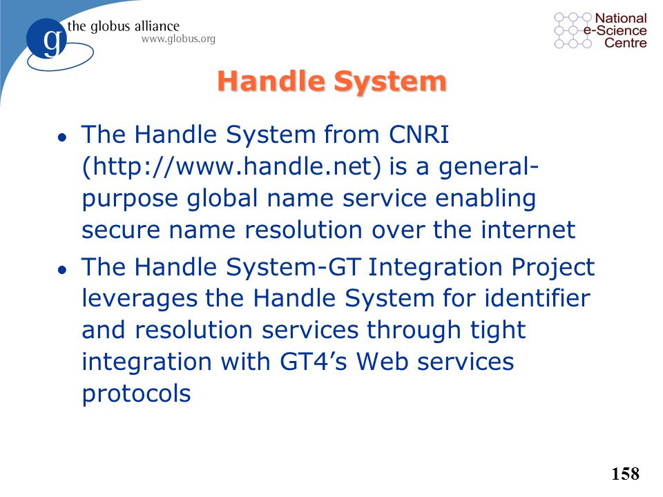 Handle System