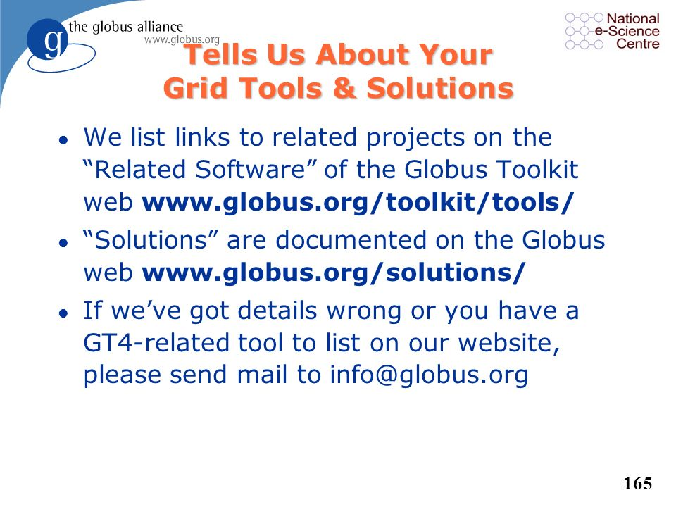 Tells Us About Your Grid Tools & Solutions
