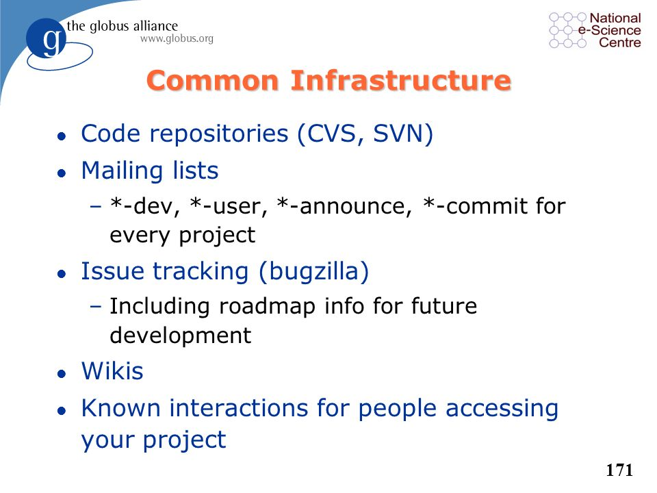 Common Infrastructure