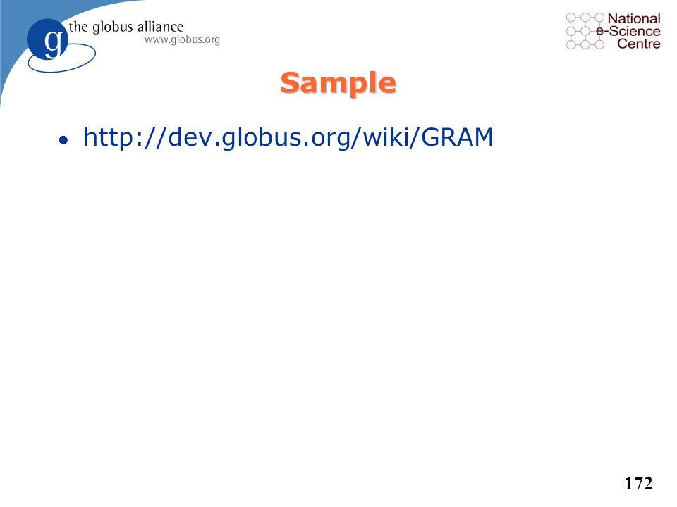 Sample http://dev.globus.org/wiki/GRAM