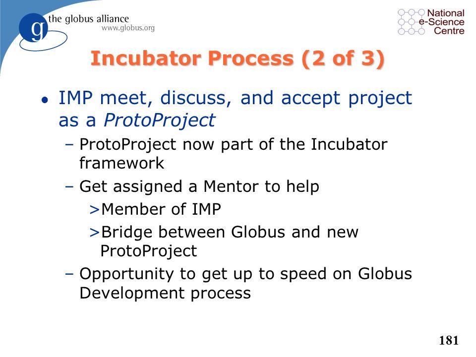 Incubator Process (2 of 3)