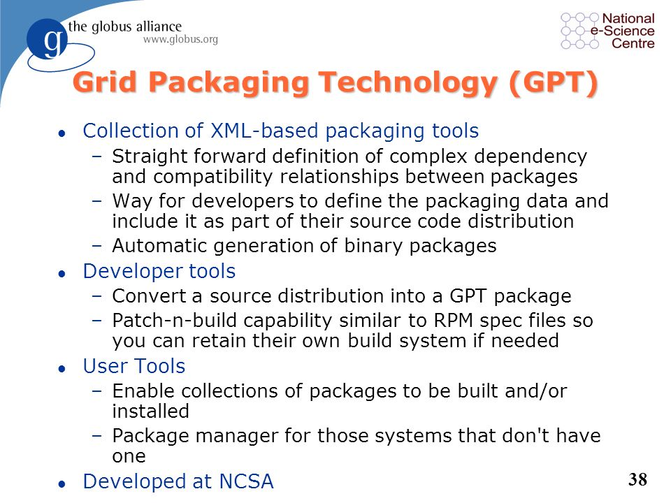 Grid Packaging Technology (GPT)