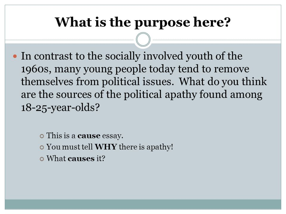 youth today essay