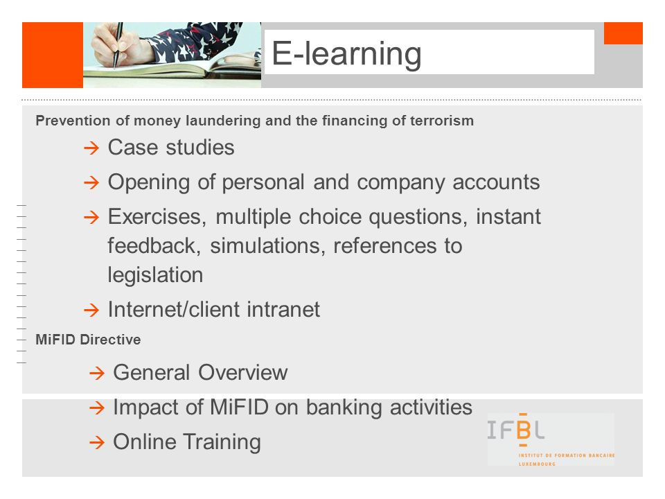 E-learning E-learning Case studies