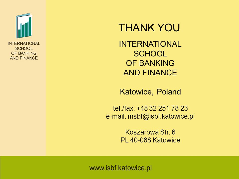 e-mail: msbf@isbf.katowice.pl