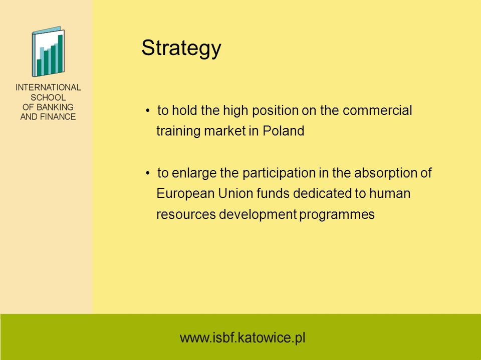 Strategy to hold the high position on the commercial