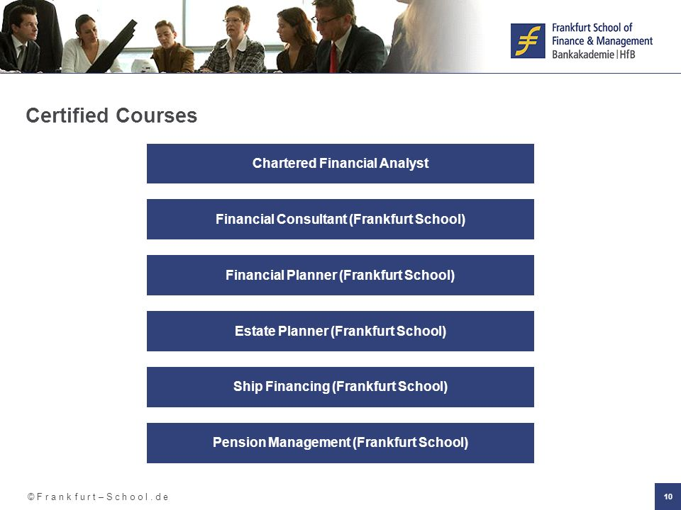 Certified Courses Chartered Financial Analyst