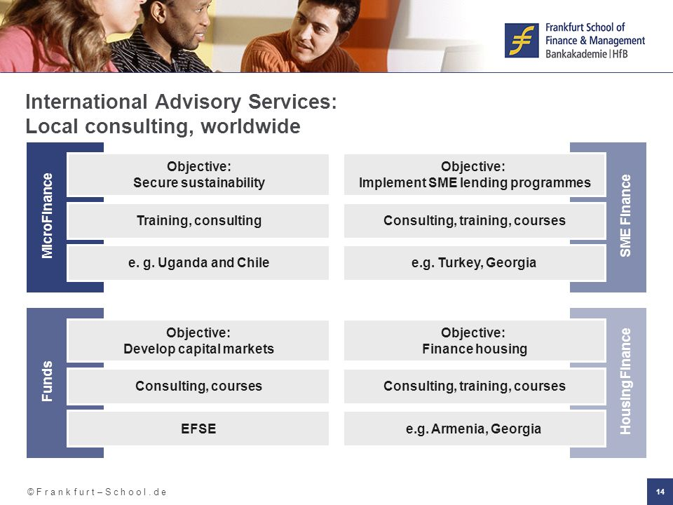 International Advisory Services: Local consulting, worldwide