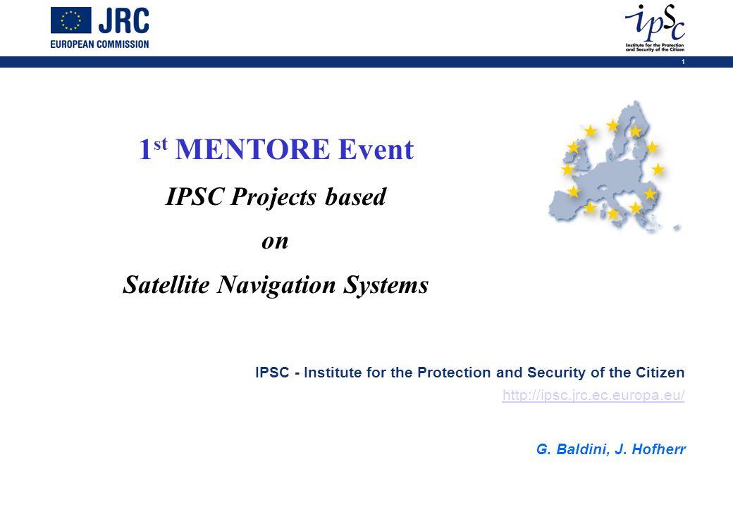 Satellite Navigation Systems