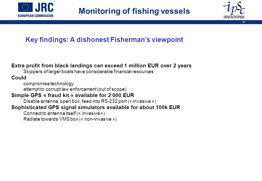 Key findings: A dishonest Fisherman's viewpoint