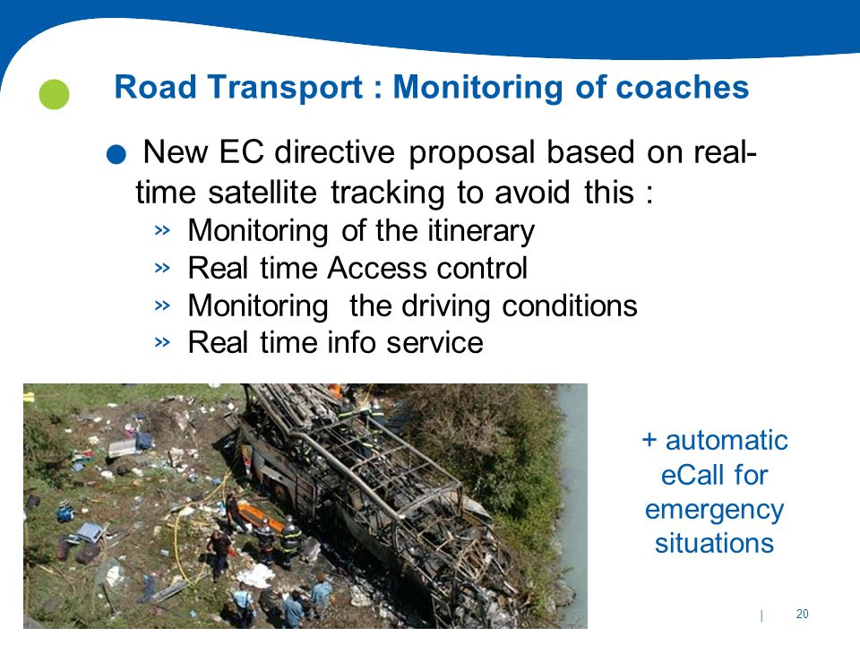 Road Transport : Monitoring of coaches