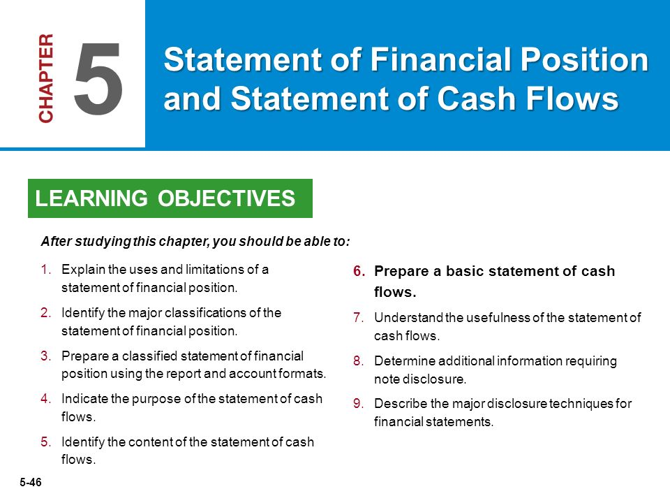 contents of financial statements Explanatory notes are discussions of items that accompany the financial statements, which are the income statement, the balance sheet, and the statement of cash flows.