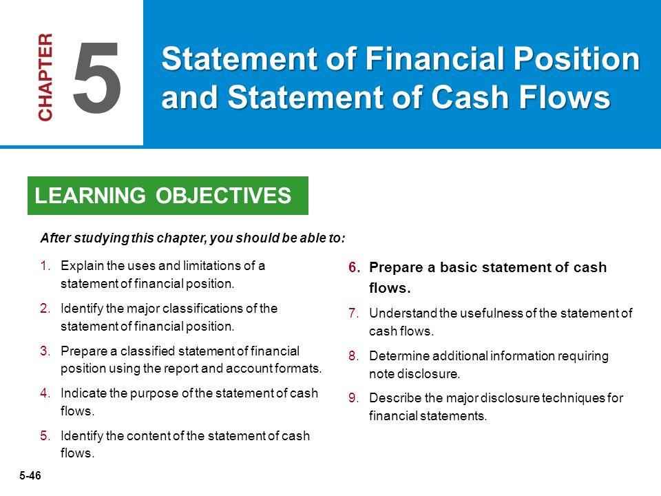 basic statement of cash flows