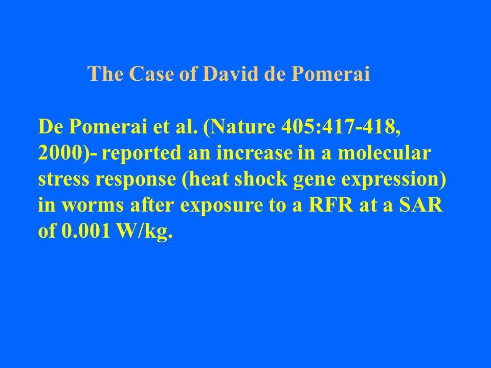 The Case of David de Pomerai
