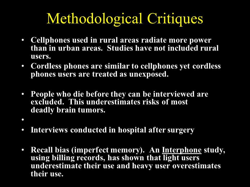 Methodological Critiques