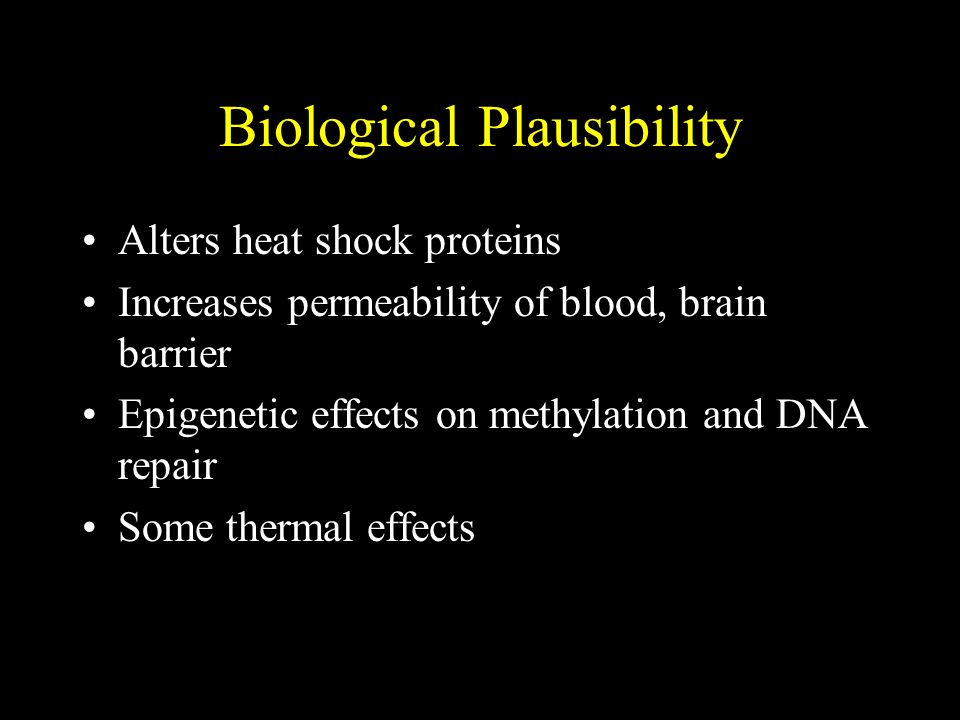Biological Plausibility