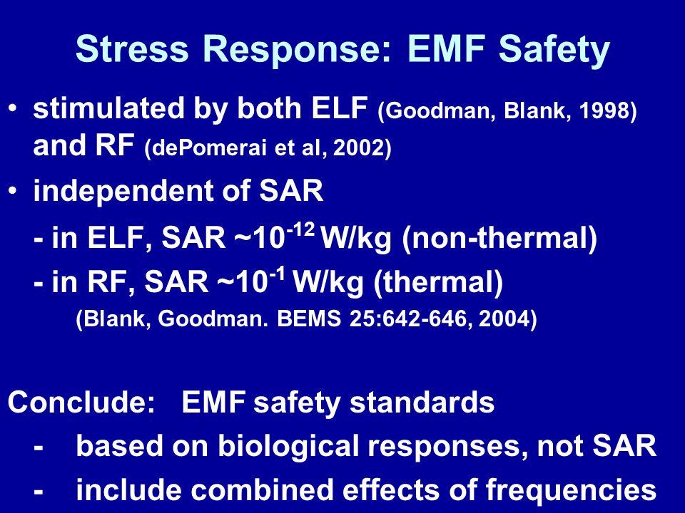 Stress Response: EMF Safety