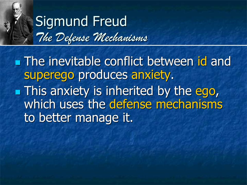 sigmund freud defense mechanisms essay Ego is a term used by sigmund freud for the part of the defence mechanisms are techniques that the denial is of the most known defense mechanisms.