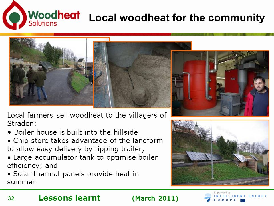 Local woodheat for the community