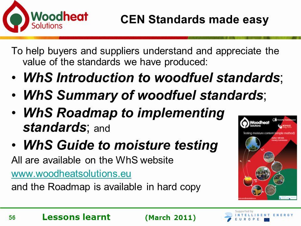CEN Standards made easy