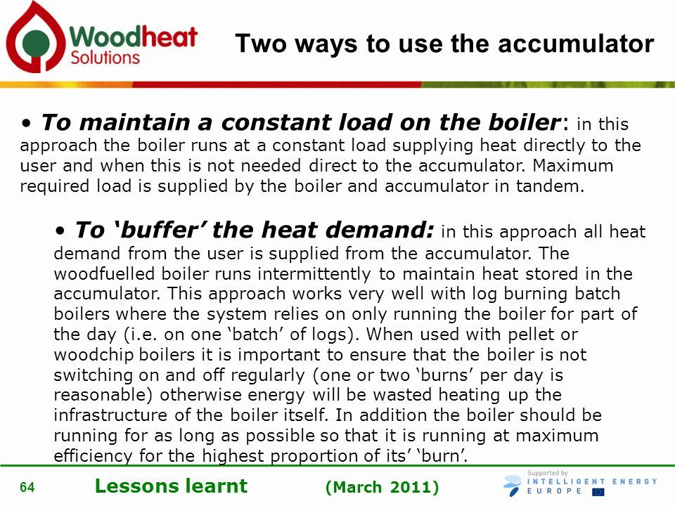 Two ways to use the accumulator