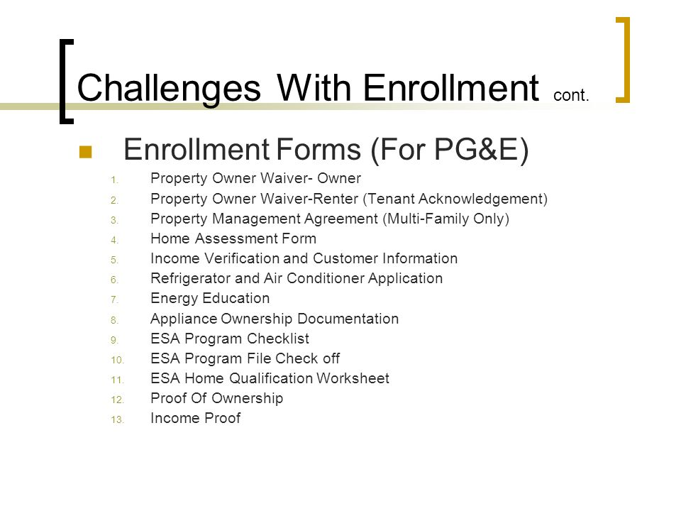 Outreach and Enrollment - ppt download