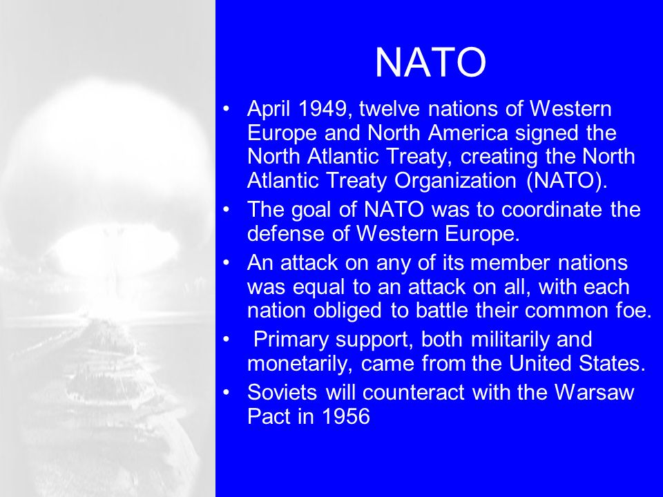 a comparison of the united nations and the north atlantic treaty organization Iii abstract the european union's rapid reaction force and the north atlantic treaty organization response force: a rational division of labor for european security.