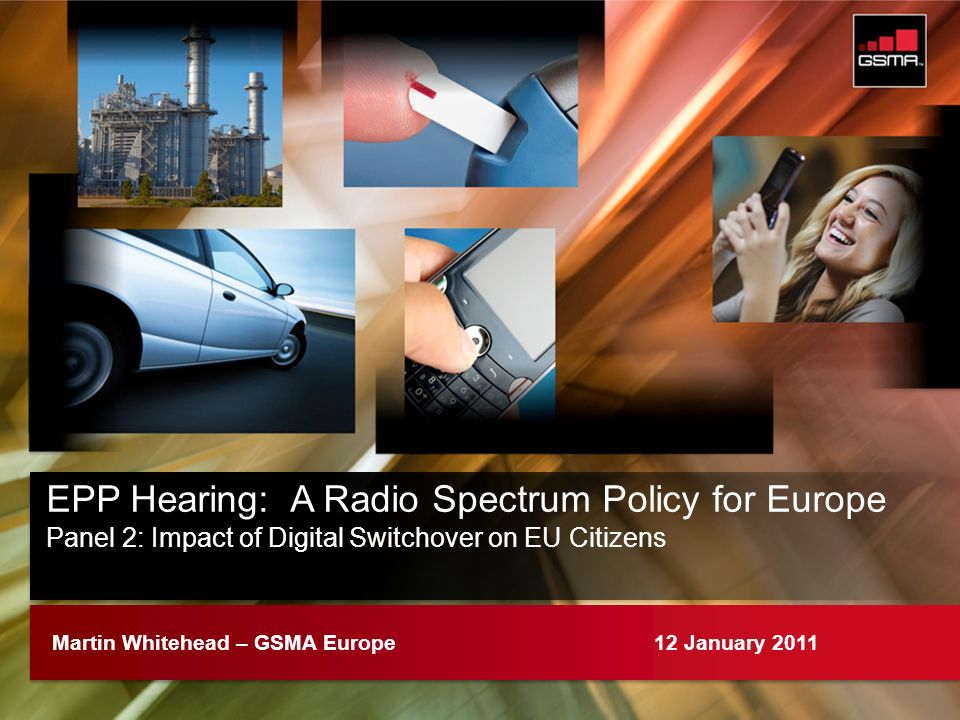 EPP Hearing: A Radio Spectrum Policy for Europe
