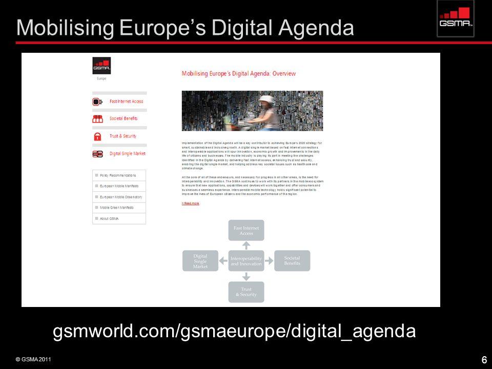 Mobilising Europe's Digital Agenda