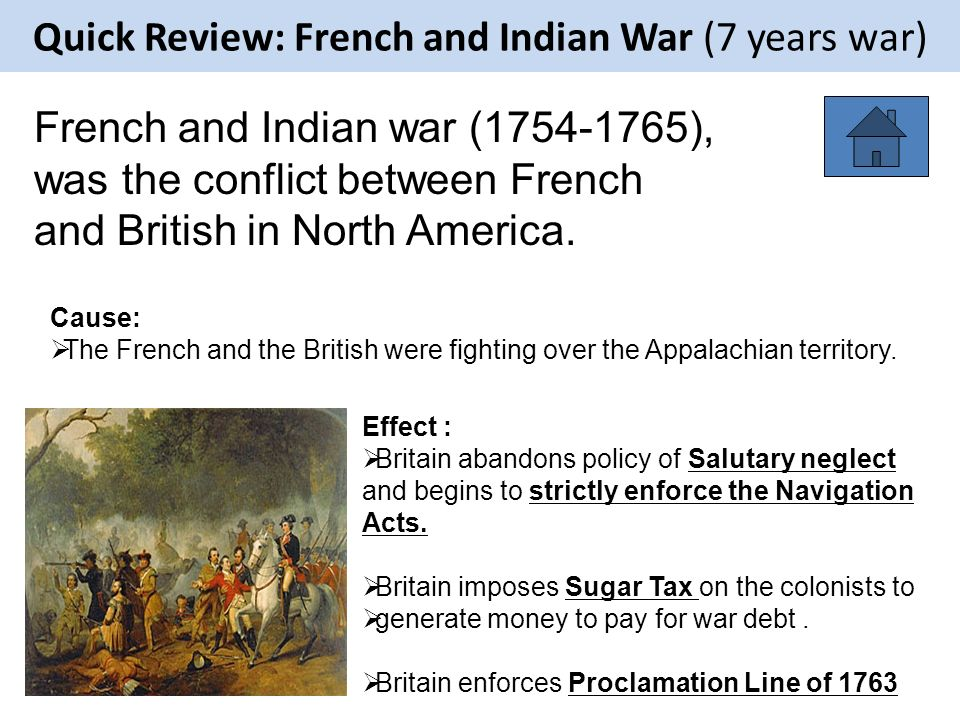 french and indian war effects The french and indian war took place between 1754 and 1763 in british north america and french north america these are now the united states and canada.