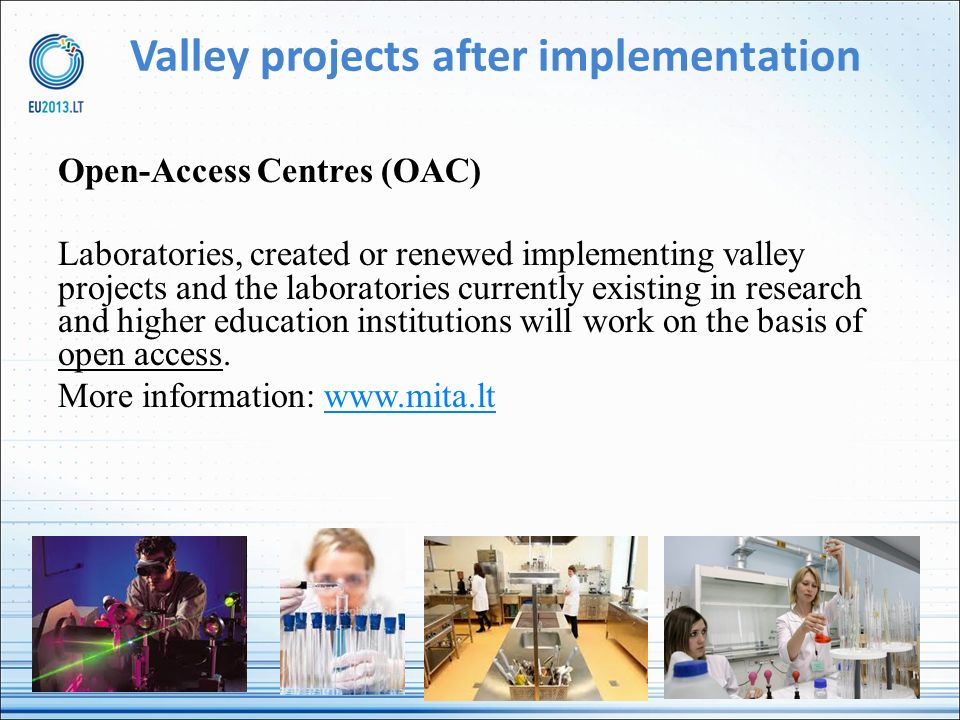 Valley projects after implementation