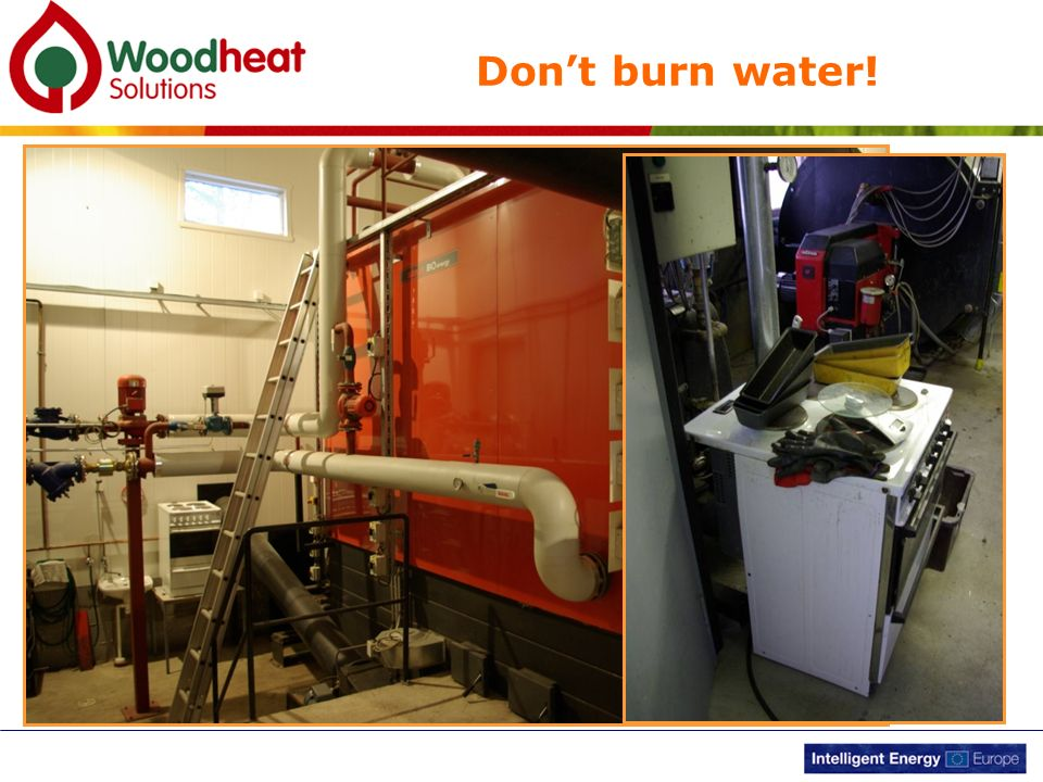 Don't burn water! Sounds obvious but water doesn't burn very well!